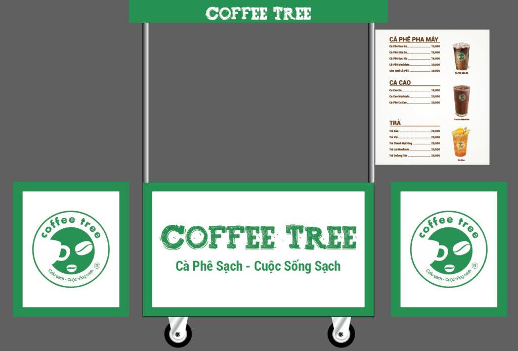 Nhượng Quyền Xe đẩy cafe