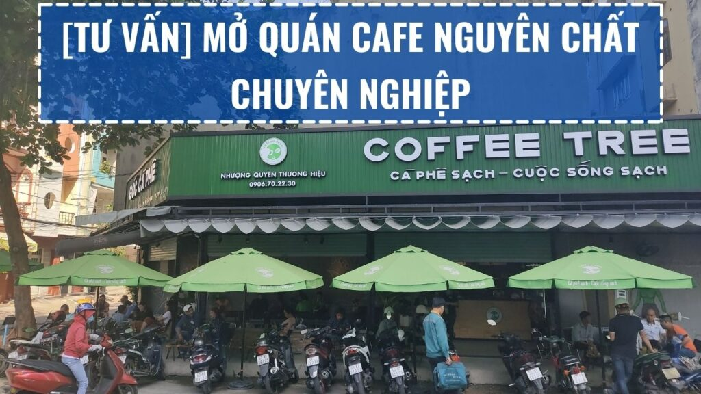 [Tư vấn] Mở Quán Cafe Nguyên Chất Chuyên Nghiệp
